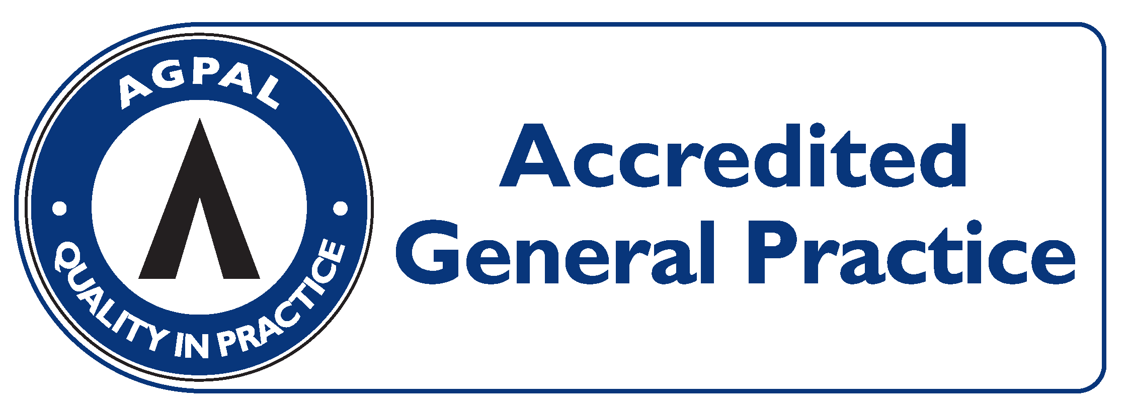 Accredited General Practice Symbol